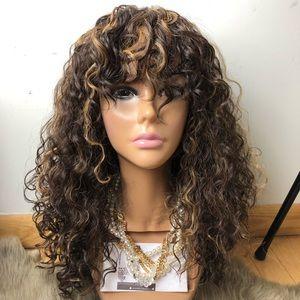 SHEIA Full cap curly wig *NWT